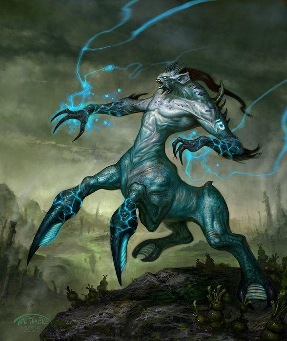 creature for Tabula Rasa by vengince