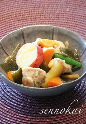 簡単おふくろの味☆鶏と秋野菜の煮物  by せんの会 【クックパッド】 簡単おいしいみんなのレシピが274万品