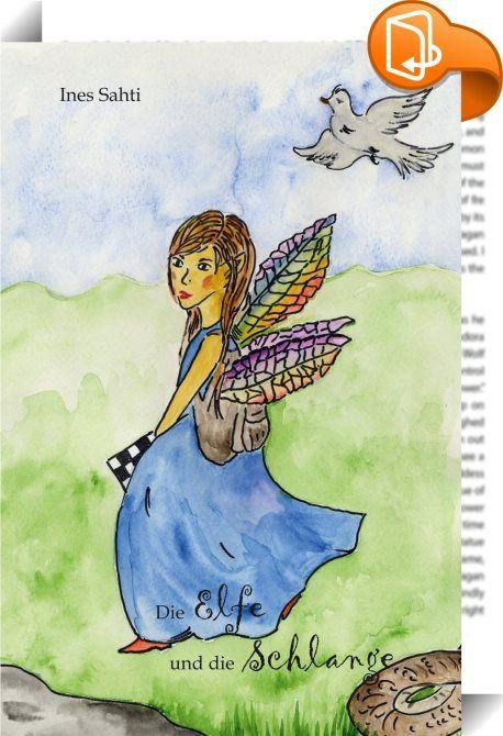 """Die Elfe und die Schlange    :  Ines Sahti wurde 1961 in Dresden geboren und ist in Freiburg i. Br. aufgewachsen. Sie arbeitete für einige Zeit in der Bibliothek einer Grundschule in den USA. Die Gespräche mit Kindern über verschiedene Bücher ermunterten sie, selbst mit dem Schreiben zu beginnen. Dieses Buch ist die Fortsetzung von Ines Sahtis erstem Buch """"Die Elfe mit den drei Flügeln"""" und erzählt die Geschichte von Yasmin, der Elfe, und Oskar, dem Gnom. In """"Yasmin und die Schlange"""" h..."""