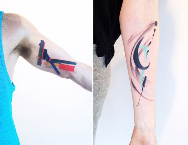 Modern Art Tattoos by Amanda Wachob