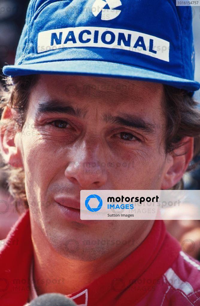 Ayrton Senna, 2nd place. Italian Grand Prix, Monza, 8 ...