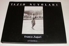 TAZIO NUVOLARI, ZAGARI, AUTOMOBILIA 1992 NEW BOOK $795 or best offer