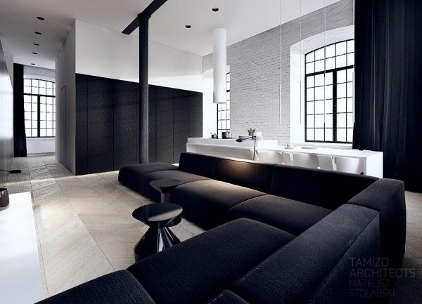 Classy Black and White Interiors by Tamizo | Wave Avenue