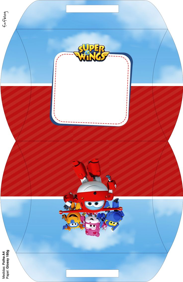 Maleta Super Wings