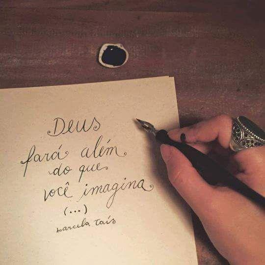 Deus fará além do que você imagina (...)  #frases #deus