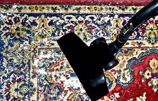 Vivere Verde: Odore persistente sui tappeti non lavabili in lavatrice