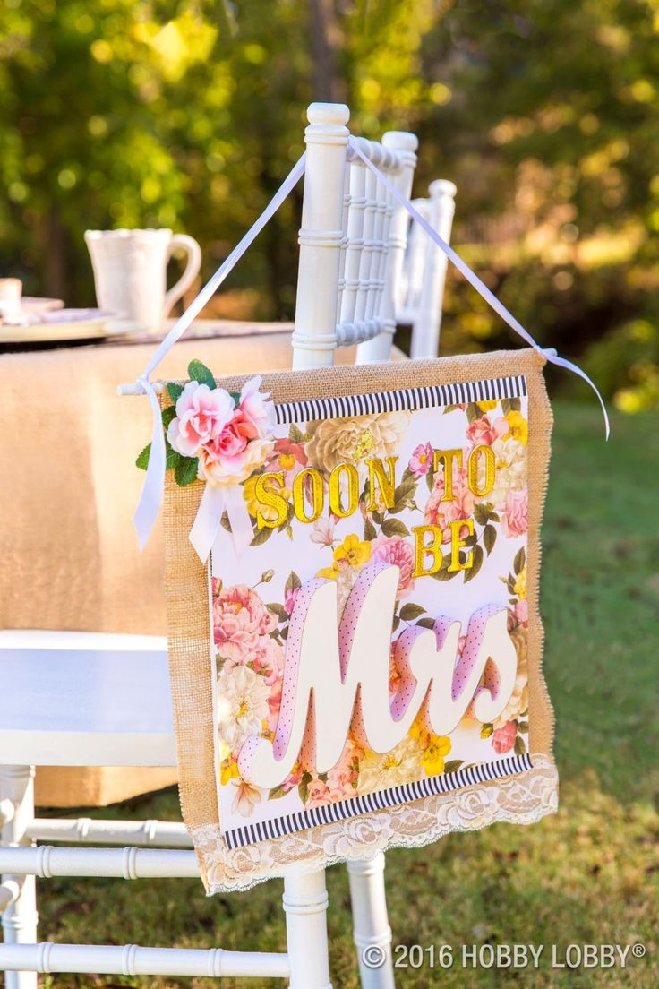 From Hobby Lobby · Celebrate The Bride To Be With Bold Patterns And  Glamorous Accents!