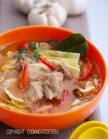 Tongseng Kambing (lamb and cabbage soup) Indonesian recipe