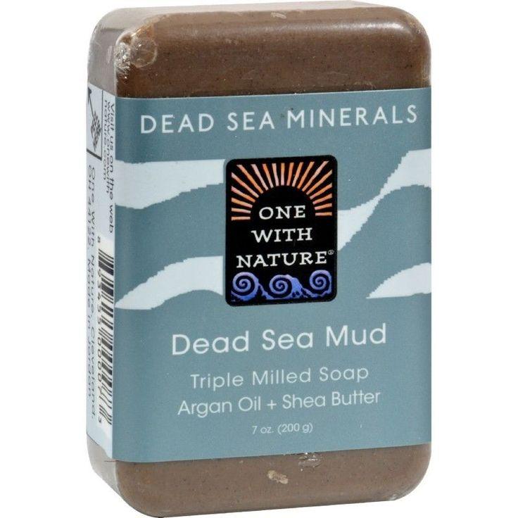 Soap Sea Mud One With Nature Dead Sea Mineral Dead Sea Mud Soap - 7 oz  | eBay