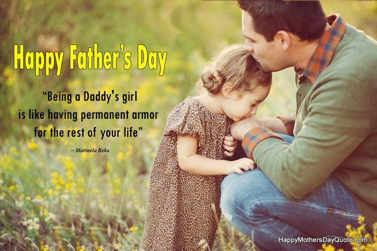 Happy Fathers Day Quotes 2018 Sayings From Daughter To Father  #father #fatherho...