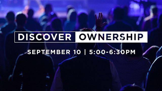 "Are you ready to ""officially"" call Quest your church home? • Then we'd love to invite you to attend Discover Ownership this Sunday, 9/10 at 5pm! It's a free class where you can meet some staff, hear our heart for the future of Quest, and ask questions. We've got snacks and childcare covered, just sign up so we can save you a seat! https://questcommunity.churchcenteronline.com/registrations/events/74953  #questcommunitychurch #quest #community  #church #jesus #bible #mission #lexington…"