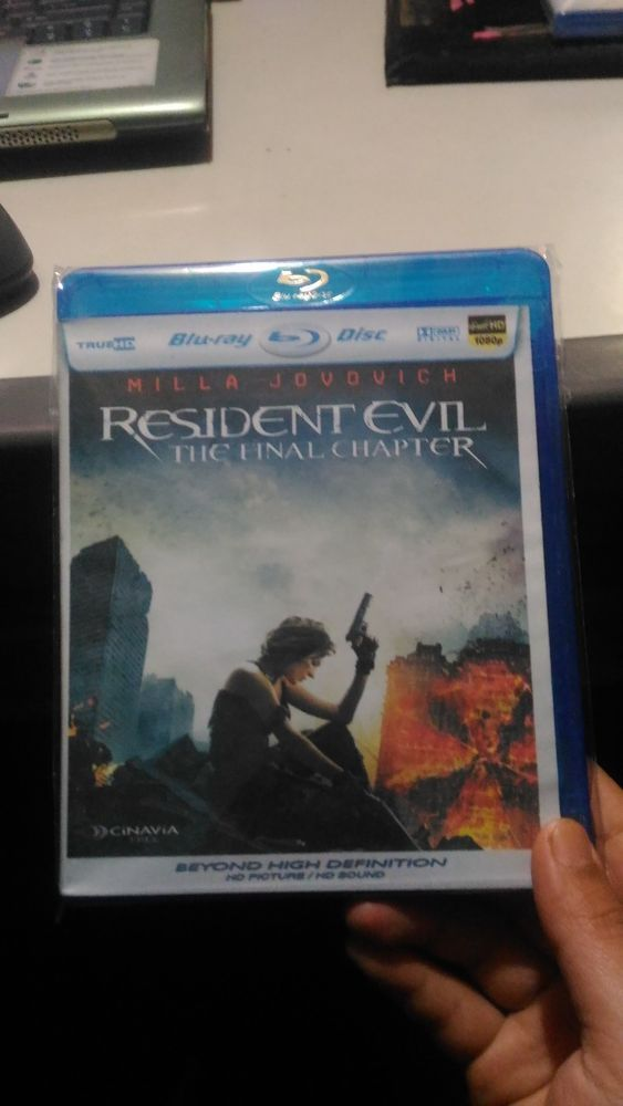 Resident Evil - The Final Chapter- Bluray Disc
