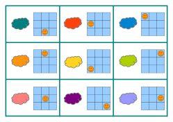 tableaux codé consignes couleurs