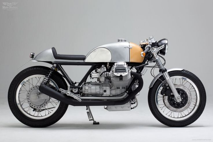 Le Mans Mk III, a Cafe Racer transformation by Kaffeemaschine