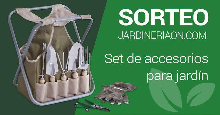 ¿Quieres ganar un set de accesorios para jardín? Pincha aquí y puede ser tuyo https://www.jardineriaon.com/sorteo-set-de-accesorios-para-jardin.html