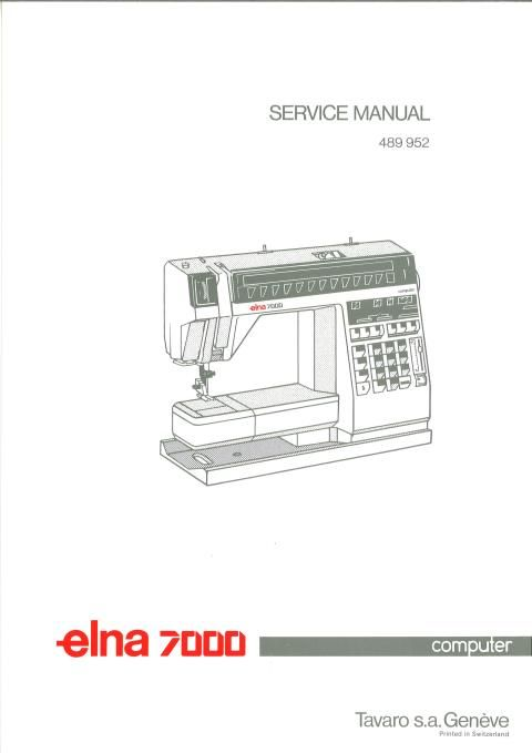elna sewing machine parts diagram animal cell cytoskeleton 7000 service diagrams manual examples include hook timing motor belt tension needle clearance and list test