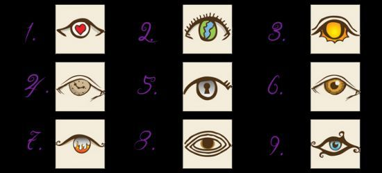 A Fun Personality Test! Choose An Eye And See What It Reveals | Spirit Science and Metaphysics