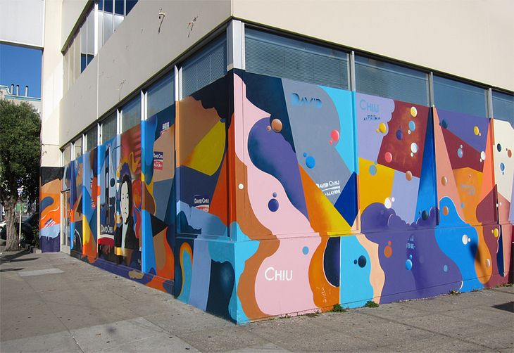 San Francisco Mural Arts | Dray | David Chiu Mayoral Mural