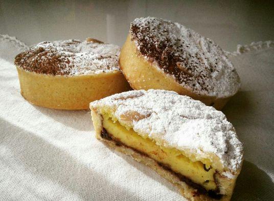 Mini_torta_della_nonna_cioccolato