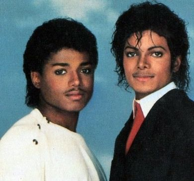 MJ and Randy-I think randy looks the most like Michael out of the family