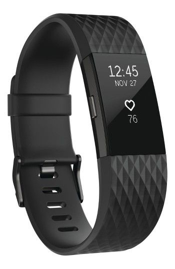 Free shipping and returns on Fitbit Charge 2 Special Edition Wireless Activity & Heart Rate Tracker at Nordstrom.com. This sleek, sporty wristband motivates you to achieve your fitness goals by calculating steps taken, calories burned, elevation climbed and distance traveled throughout the day and features a low-profile display to indicate your real-time progress. Record your workouts with multi-sport modes that give you real-time stats on screen or use the on-board SmartTrack technology ...