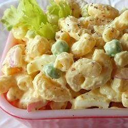 Ma salade de macaroni