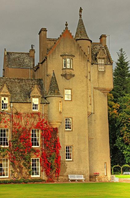 Ballindalloch Castle Tower, Moray, Scotland