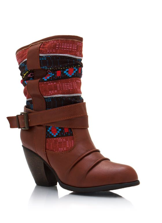 slouchy southwest boots $36.40