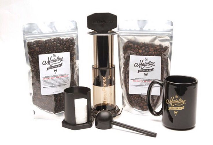 Have your tried using an Aeropress yet? If you haven't get over to the site and order an Aeropress brew kit for $39.95 themainlinecoffeeco.com