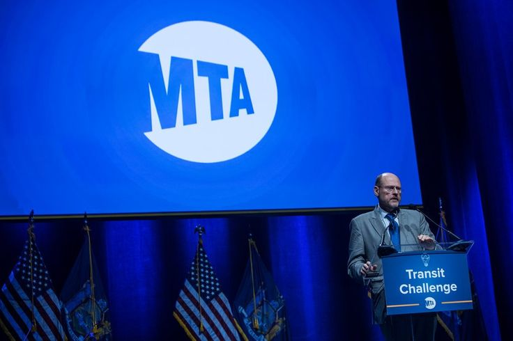 """Joseph J. Lhota, the chairman of the Metropolitan Transportation Authority, in June. In an interview on Monday, Mr. Lhota said, """"There was a time when New York led the world in mass transportation. We need to get back to that position."""""""