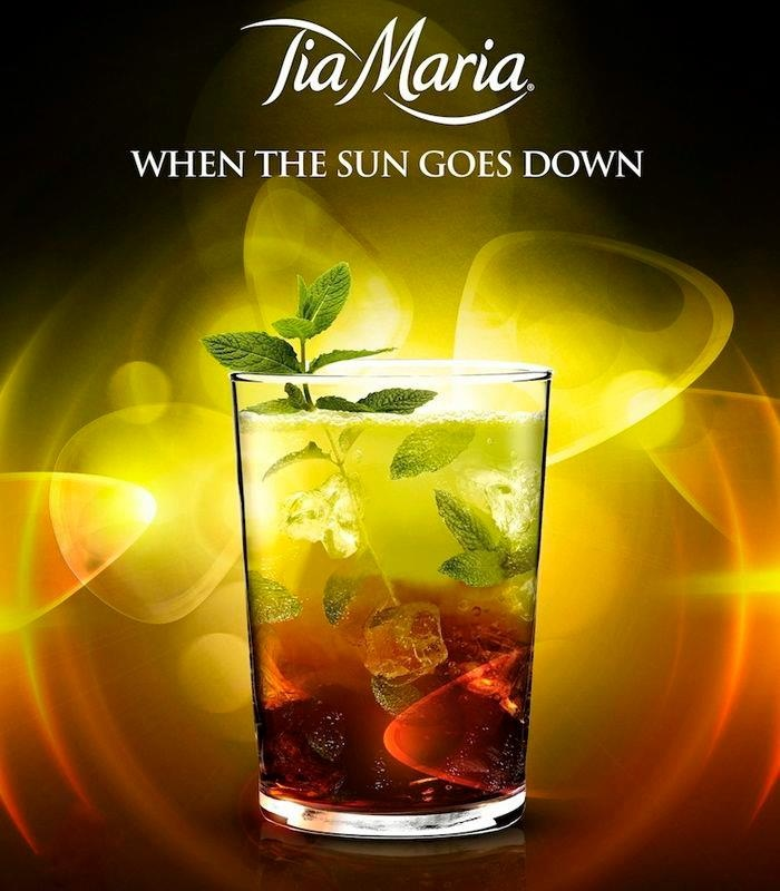 MOJITIA 45ml Tia Maria 45ml White Rum 15ml Lemon Juice | All Ingredients & fruit juices available at Ice Cube #Chandigarh #Tuesday #Cheers
