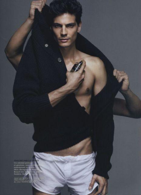 Javier de Miguel, el top model español que triunfa en medio mundo. Las fotos merecen, y mucho, la pena.