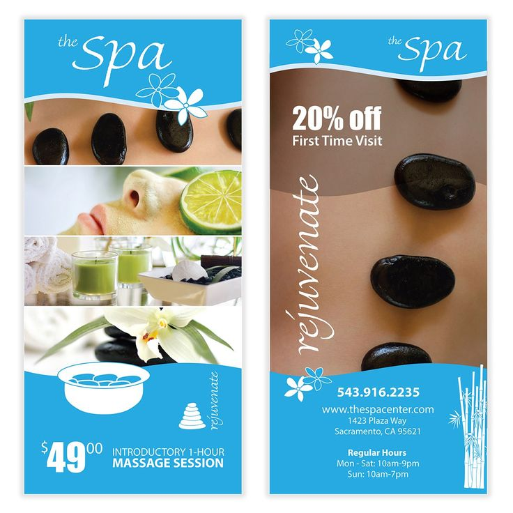 Spa Flyer Template 04