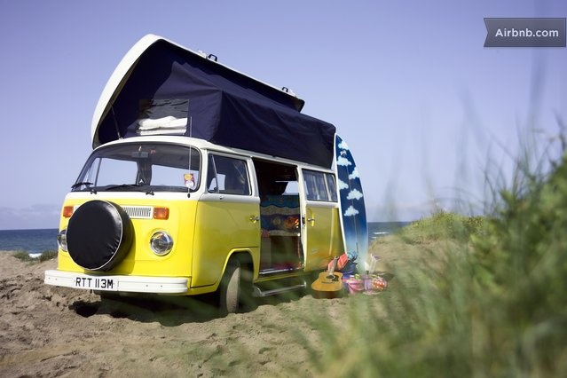 Reliving an era I  never actually lived in - who doesn't dream about travelling the world in a camper van?