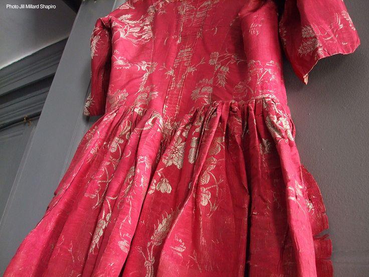Huguenots of Spitalfields, Silk Dress.