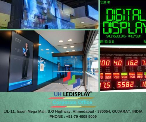 #Digital_Display Screens Supplier - UHLEDISPLAY INC
