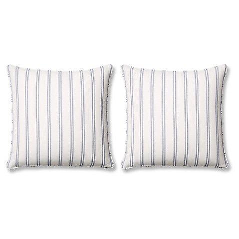 S/2 Espadrille 20x20 Sunbrella Pillows, Bl $299.00