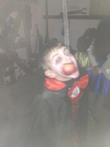 Halloween games at Tullyboy Farm