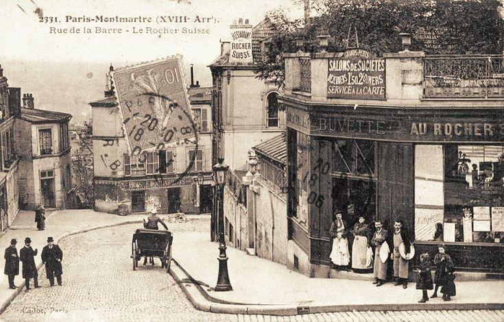 rue du Chevalier-de-la-Barre- Paris 18ème