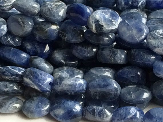 5 Strands WHOLESALE  Sodalite Beads  Dark Blue by gemsforjewels