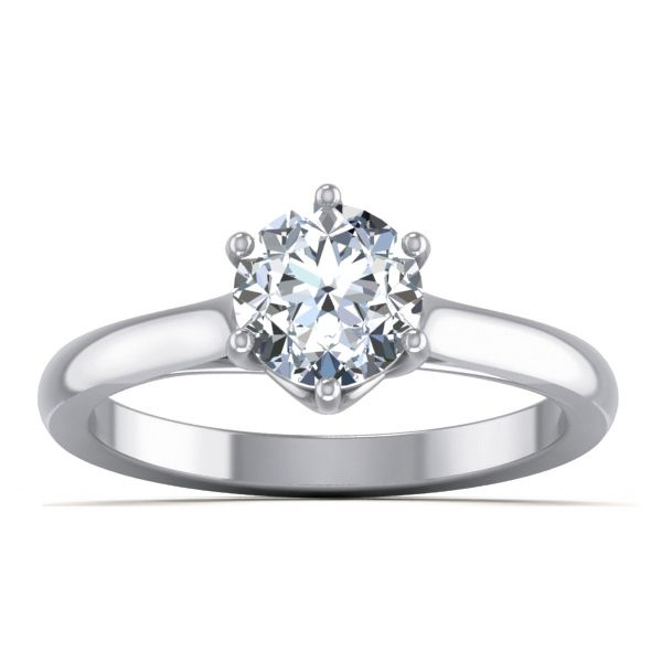 Forever Solitaire Ring solitaire
