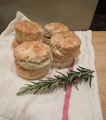 Texas Girl in Philly: Rosemary, Parmesan, and Black Pepper Biscuits