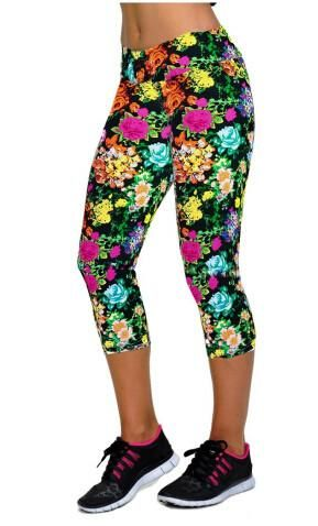 Floral Printing Capris Leggings Available on Shopify! Shop here 👉 http://rebelrani.com/products/floral-printing-capris-leggings-1?utm_campaign=crowdfire&utm_content=crowdfire&utm_medium=social&utm_source=pinterest