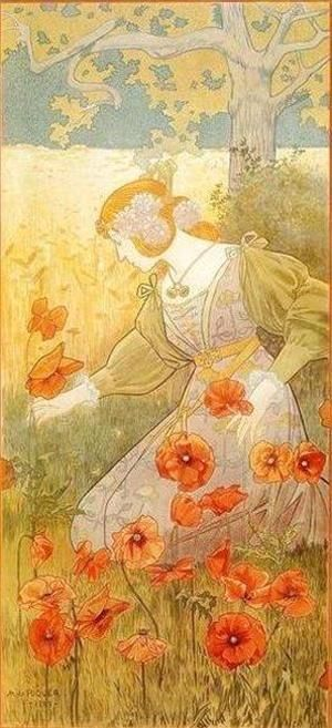 The Four Seasons (Summer)  Alejandro de Riquer