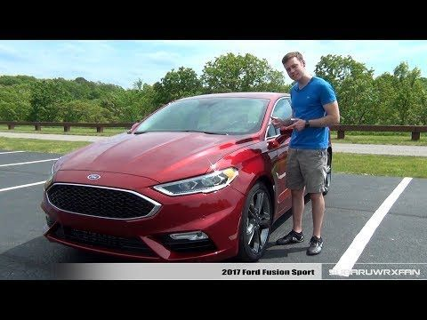 Awesome Ford: Review: 2017 Ford Fusion Sport i.ytimg.com/......  Biz Check more at http://24car.top/2017/2017/07/09/ford-review-2017-ford-fusion-sport-i-ytimg-com-biz/