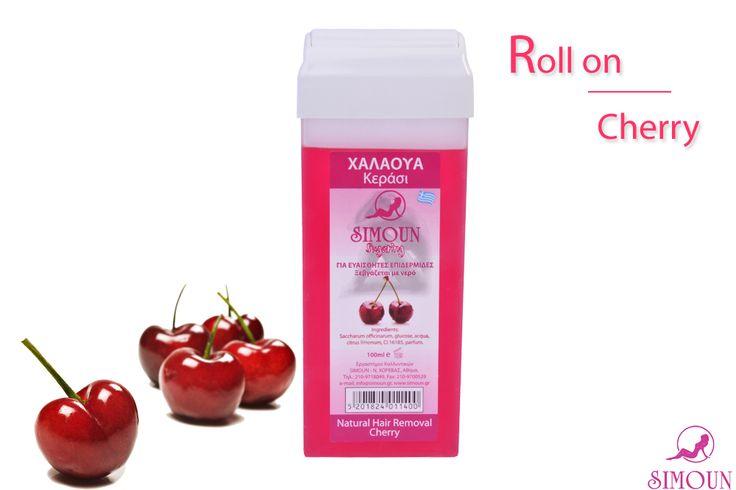 Simoun hair removal, Body sugaring, Sugaring Roll on cherry, Sugar wax