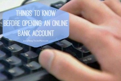 Things You Need to Know Before You Can Open an Online Bank Account - http://www.pennypinchinmom.com/things-you-need-to-know-before-you-can-open-an-online-bank-account/