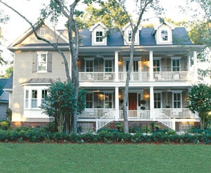 2 story wrap around porch for the home pinterest for Two story houses with wrap around porches