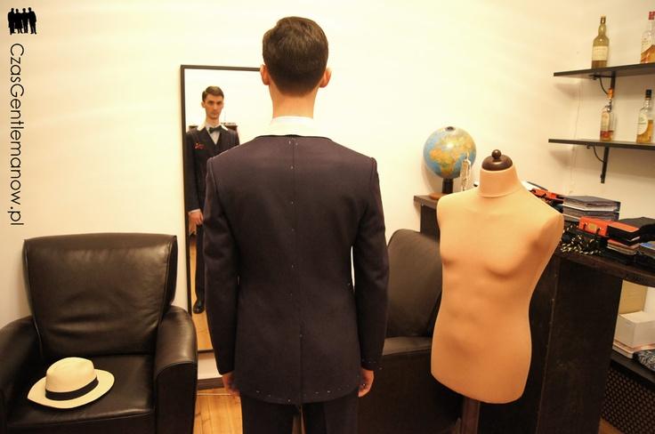 III przymiarka - idealne plecy | Third suit fitting - perfect back