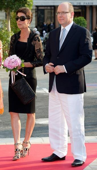 Princess Caroline & her brother Prince Albert of Monaco. Princess Caroline.